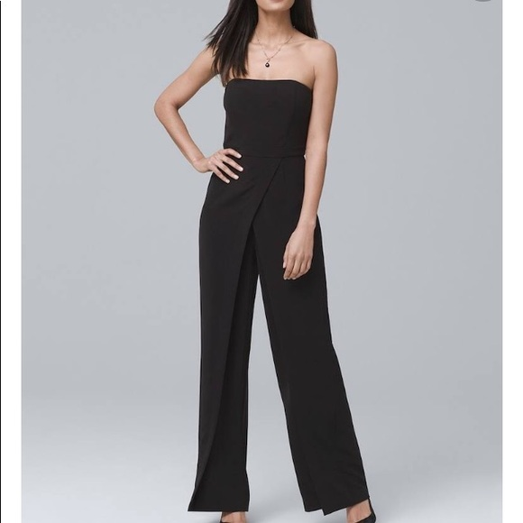 99430ee5c88a WHBM CONVERTIBLE STRAPLESS SPLIT-LEG JUMPSUIT. M 5b0583b28af1c5bc61ec615c.  Other Pants you may like. White House Black Market ...